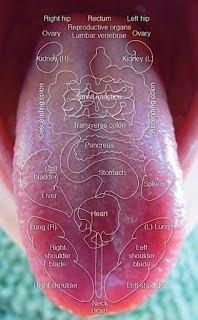 Mapa de la lengua